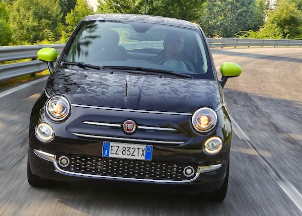 Fiat 500 Italy July 2015