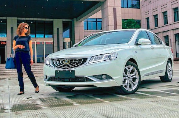 Geely GC9 Russia July 2015. Picture courtesy zr.ru