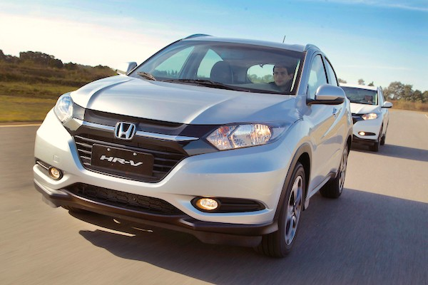 Honda HR-V Brazil September 2015
