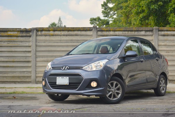 Hyundai Grand i10 Mexico June 2015
