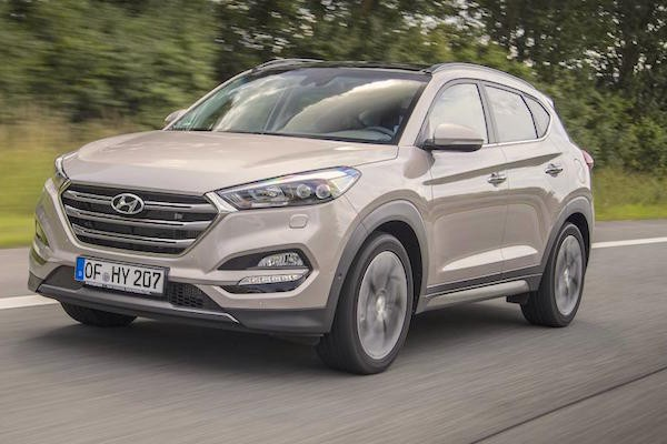 Hyundai Tucson Italy September 2015. Picture courtesy autocar.co.uk