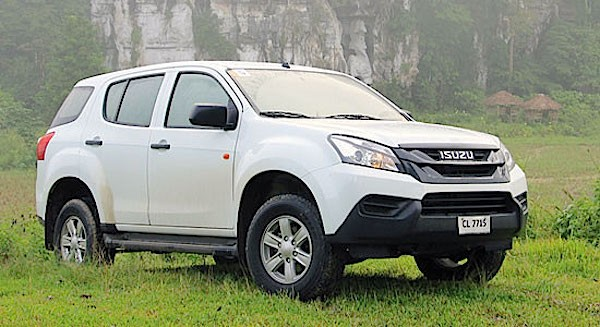 Isuzu MU-X Philippines June 2015. Picture courtesy bworldonline.com