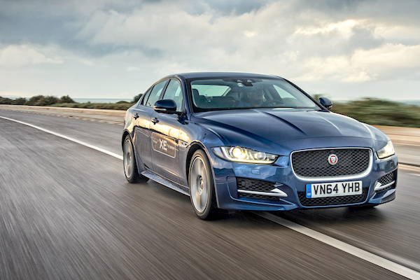 Jaguar XE Europe July 2015