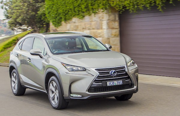 Lexus NX Australia July 2015. Picture courtesy caradvice.com.au