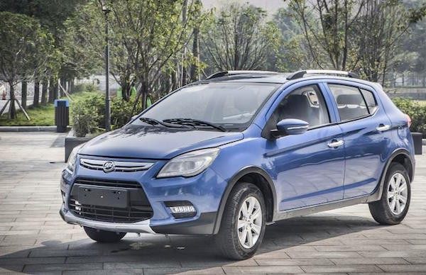 Lifan X50 Russia July 2015. Picture courtesy news.auto.ru