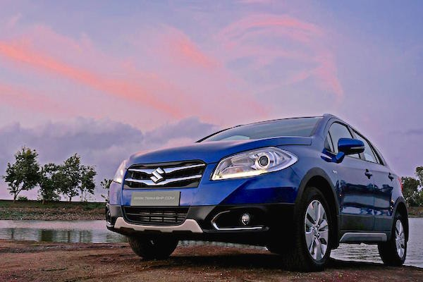 Maruti S-Cross India July 2015. Picture courtesy team-bhp.com