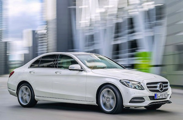 Mercedes C Class Germany July 2015. Picture courtesy autobild.de