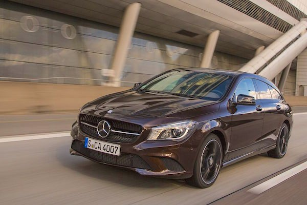 Mercedes CLA France July 2015. Picture courtesy largus.fr
