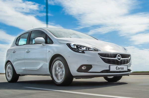 Opel Corsa Europe September 2015