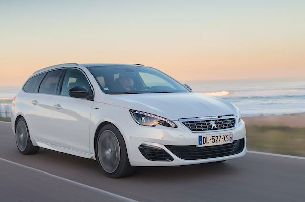 Peugeot 308 France July 2015. Picture courtesy largus.fr