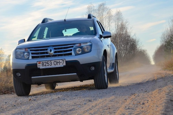 Renault Duster Belarus June 2015. Picture courtesy ruh.by