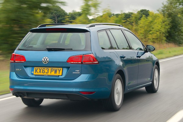 VW Golf Sweden July 2015