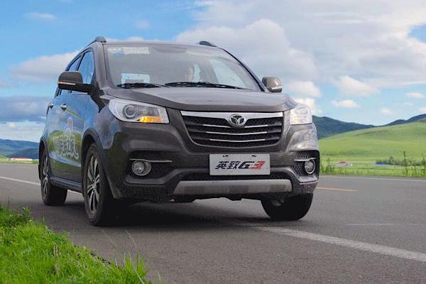 Weichai Enranger G3 China July 2015