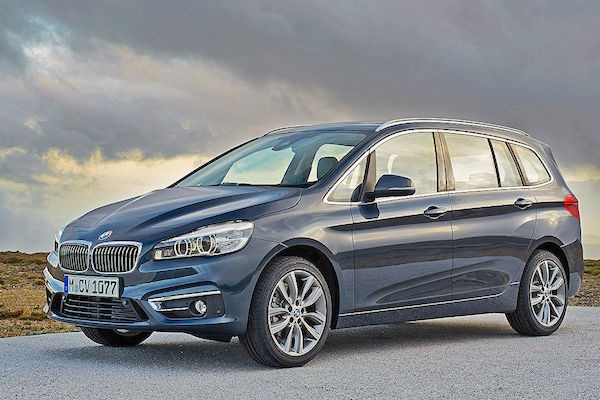BMW 2er Gran Tourer Hong Kong October 2015. Picture courtesy autobild.de