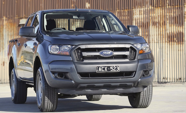 Ford Ranger Australia August 2015. Picture courtesy caradvice.com.au