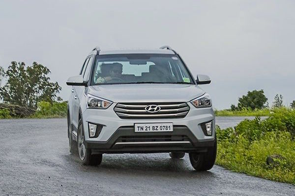 Hyundai Creta India August 2015. Picture courtesy zigwheels.com