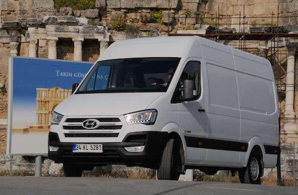 Hyundai H350 Turkey August 2015. Picture courtesy iepieleaks.nl