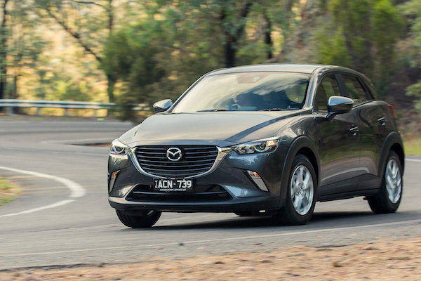 Mazda CX-3 Ausrtralia August 2015. Picture courtesy caradvice.com.au