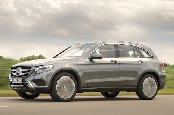 Mercedes GLC Spain September 2015