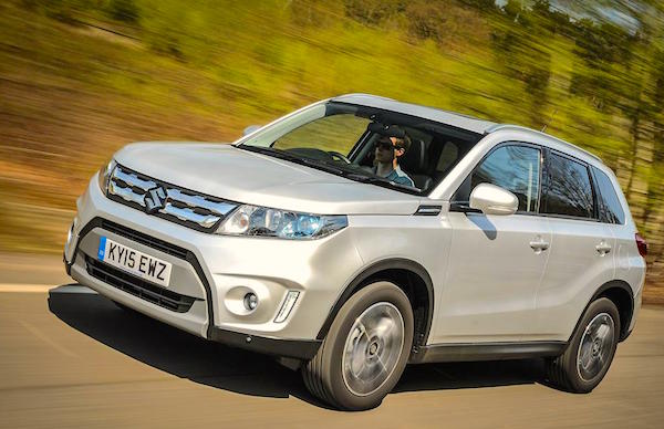 Suzuki Vitara Hungary August 2015. Picture courtesy whatcar.co.uk