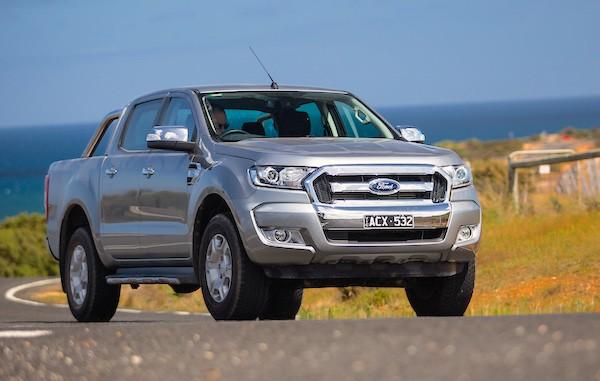 Ford Ranger New Zealand September 2015. Picture courtesy caradvice.com.au
