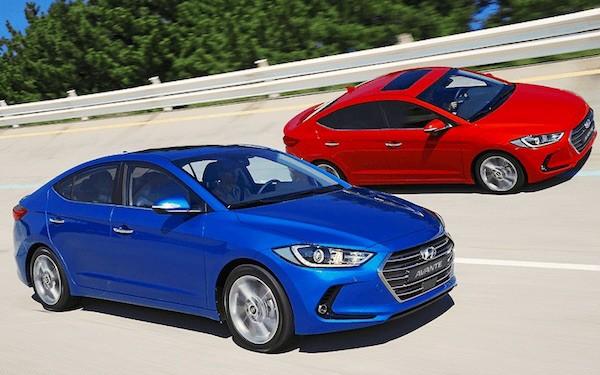 Hyundai Avante South Korea September 2015. Picture courtesy minyouhwa.com