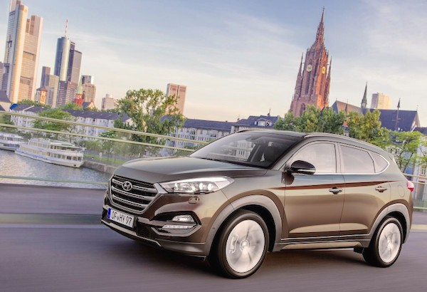 Hyundai Tucson Germany September 2015