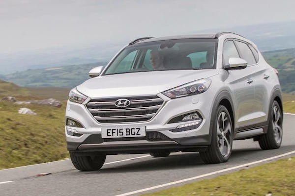 Hyundai Tucson UK September 2015. Picture courtest autoexpress.co.uk