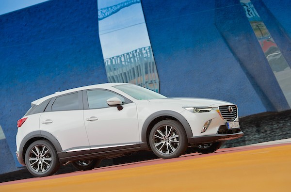 Mazda CX-3 Germany September 2015