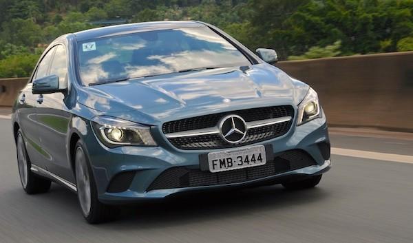 Mercedes CLA Brazil September 2015. Picture courtesy uol.com.br