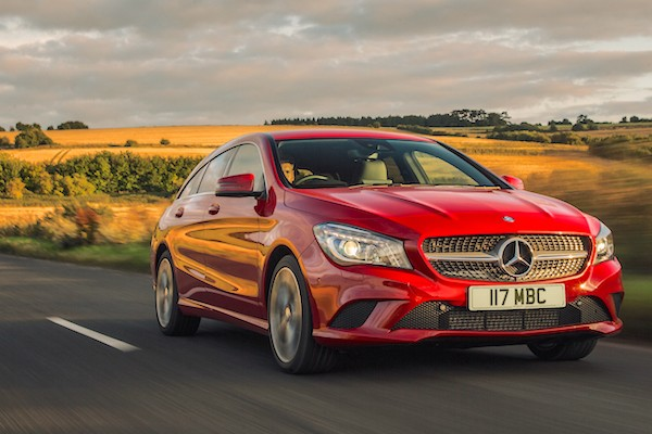Mercedes CLA Portugal September 2015