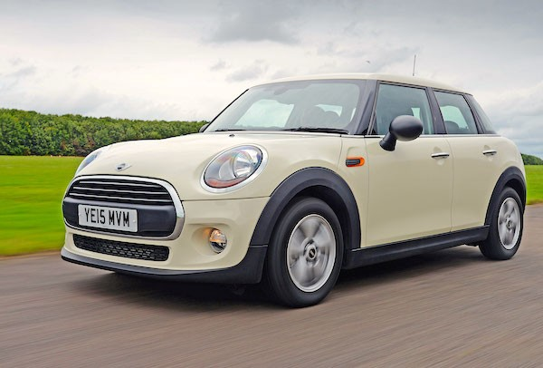 Mini UK September 2015. Picture courtesy autoexpress.co.uk