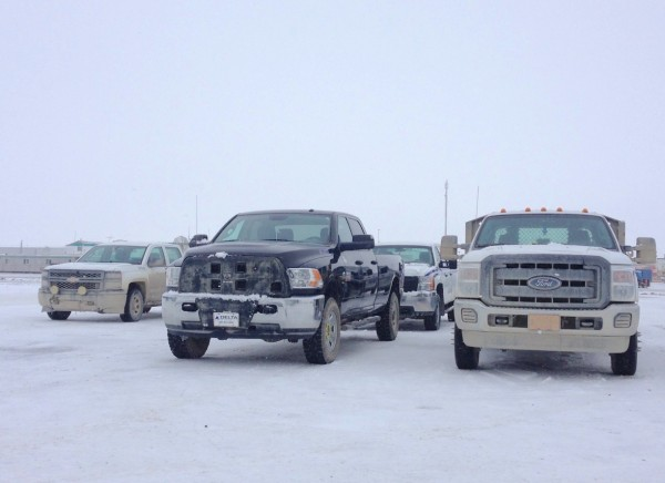 Prudhoe Bay pickups