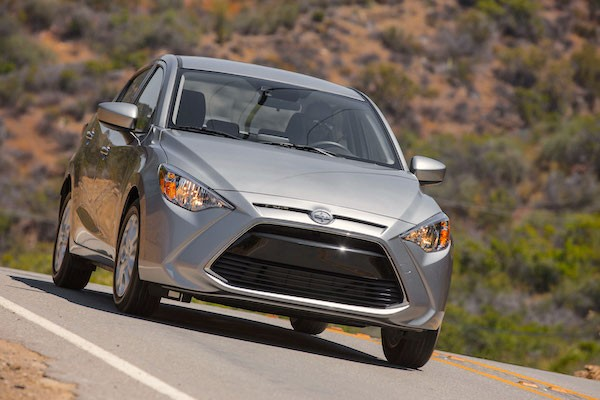 Scion iA USA September 2015. Picture courtesy motortrend.com