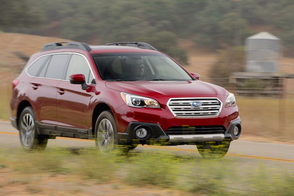 Subaru Outback USA September 2015. Picture courtesy motortrend.com