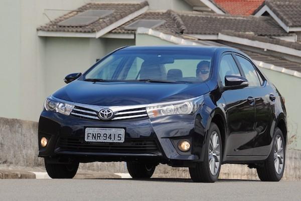 Toyota Corolla Brazil September 2015. Picture courtesy uol.com.br