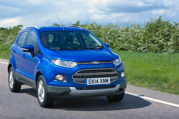 Ford Ecosport UK October 2015. Picture courtesy autoexpress.co.uk