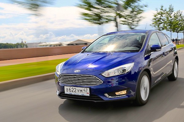 Ford Focus Russia October 2015. Picture courtesy zr.ru