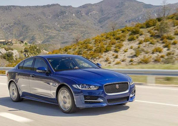 Jaguar XE Spain November 2015. Picture courtesy autocar.co.uk