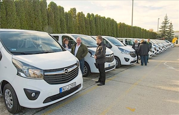 Opel Vivaro Hungary October 2015. Picture courtesy autopro.hu