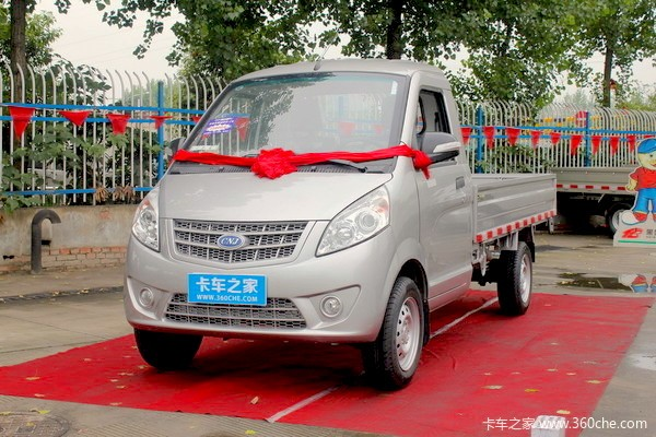 Sichuan Mini Truck China October 2015. Picture couertesy 360che.com