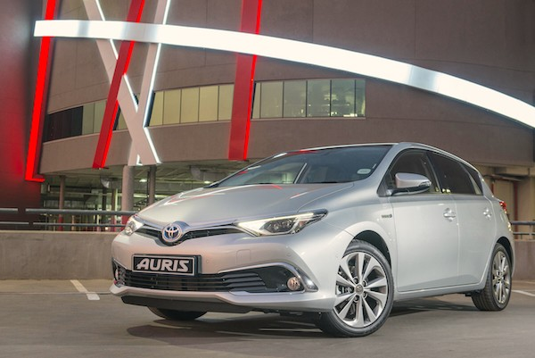 Toyota Auris South Africa October 2015