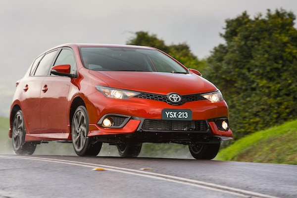 Toyota Corolla New Zealand October 2015