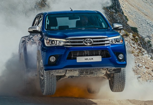 Toyota Hilux South Africa September 2015