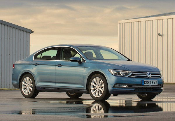 VW Passat Europe October 2015