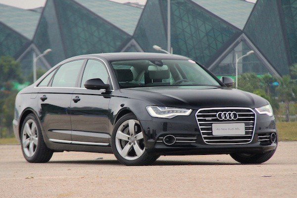 Audi A6L China 2014. Picture courtesy bitauto.com