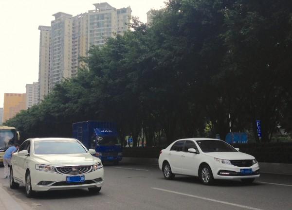 Geely GC9 Vision Guangzhou