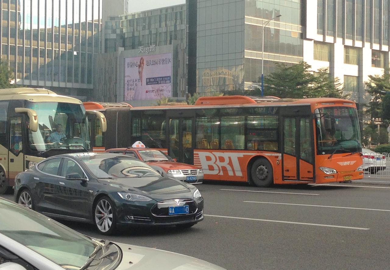 Tesla Model S Guangzhou