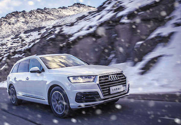 Audi Q7 China June 2017. Picture Courtesy Auto.sohu.com