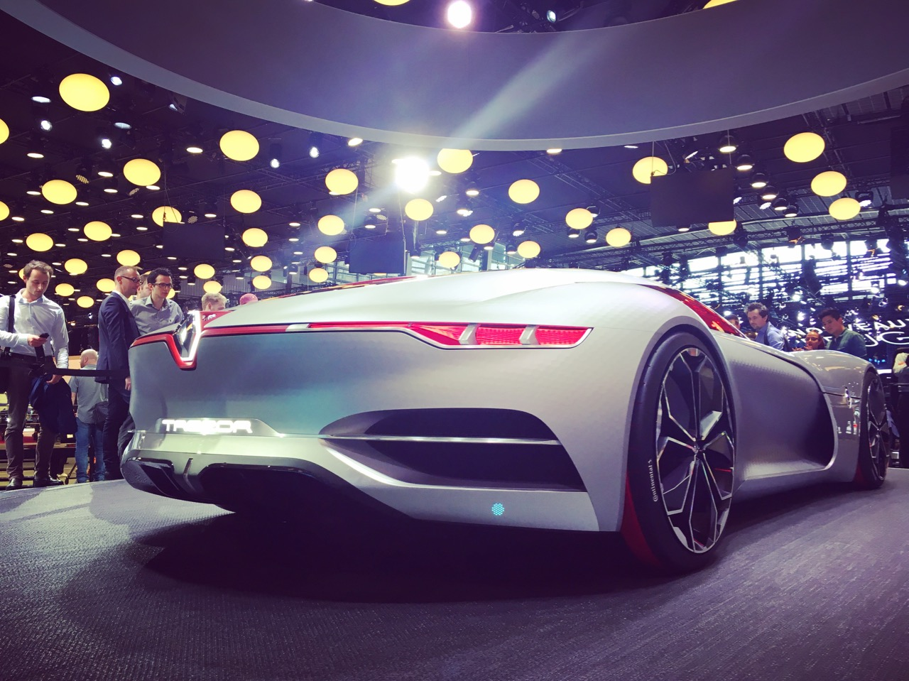 Renault Trezor Paris Auto Show 2016